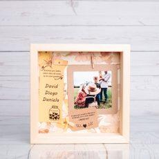 Marco personalizado para abuelos con foto