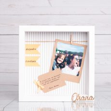 Marco personalizado para hermanos y hermanas con foto